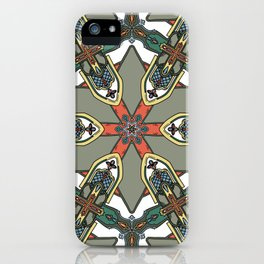 Revive the Gothic Revival in Sage iPhone Case