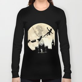 Peter Pan FullMoon Over London Long Sleeve T-shirt