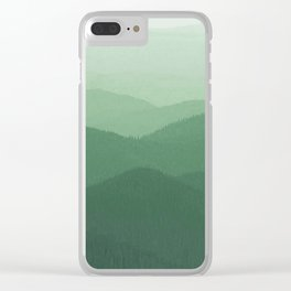 Hunter Mountain summer Clear iPhone Case