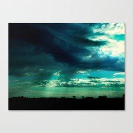 Morning Storm-Iowa Canvas Print