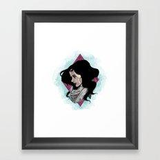 You've missed me Jessica Framed Art Print