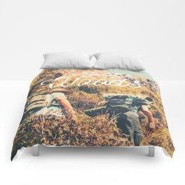 Let's Escape Comforters
