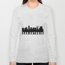 San Antonio Skyline Long Sleeve T-shirt