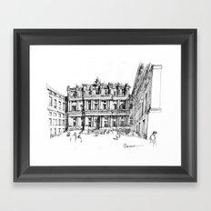 Il Palazzo Ducale di Genova Framed Art Print