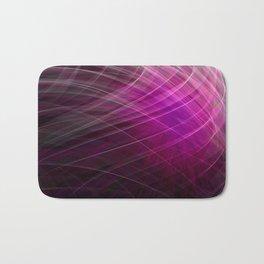 Linear Pattern-Purple Bath Mat