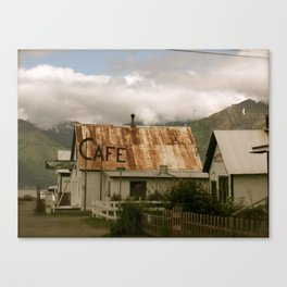 Hope, Alaska Canvas Print
