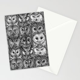 Owl Optics BW Stationery Cards