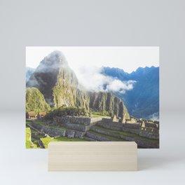 Morning at Machu Picchu, #2 Mini Art Print
