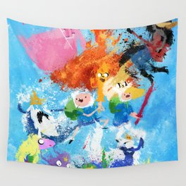 Battle Time!! - compilation Wall Tapestry