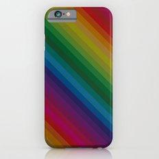 Sophisticated Rainbow iPhone 6s Slim Case