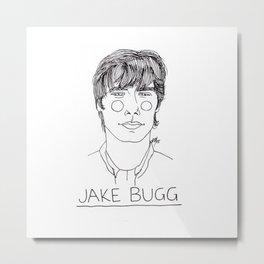 Bugg Metal Print