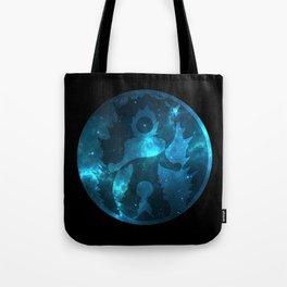 Yin Yang Super Saiyan God Symbol Tote Bag