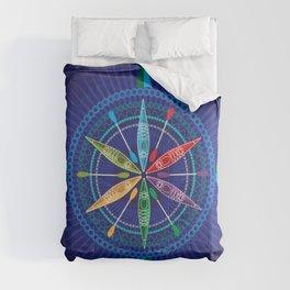 Kayak Compass Rose Comforters
