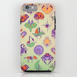Creepy Crawlies iPhone Case