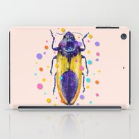insect iPad Cases featuring INSECT IX by dogooder