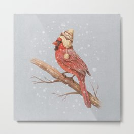 First Snow - colour option Metal Print