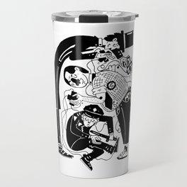 The puppeteers Travel Mug