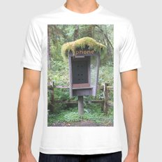 Relics MEDIUM White Mens Fitted Tee