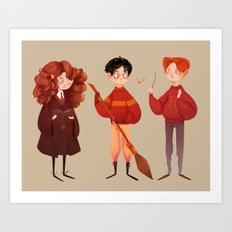 Friendship and Bravery Art Print