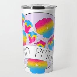 Pan Pride Flowers Travel Mug