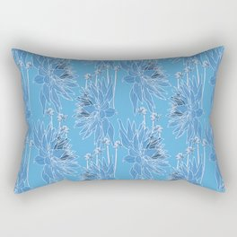 NightDahlia Rectangular Pillow