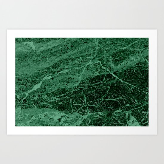 Dark emerald marble texture by mydream