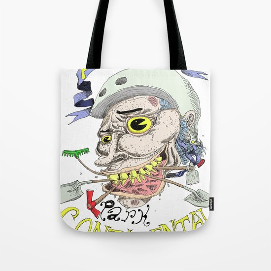 Park Continental Tote Bag