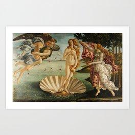 Birth Of Venus Sandro Botticelli Nascita di Venere Art Print