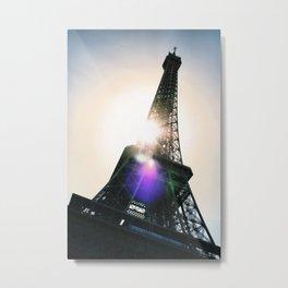 Eiffel Tower, Paris. France. Metal Print