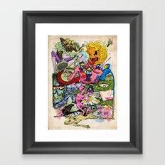 Rabbit Valley Framed Art Print