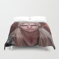 thranduil Duvet Covers featuring Thranduil Portrait by Jay Lockwood Carpenter