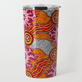 Aboriginal Art Authentic – Journey 2 Travel Mug