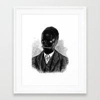 bdsm Framed Art Prints featuring BDSM II by DIVIDUS DESIGN STUDIO