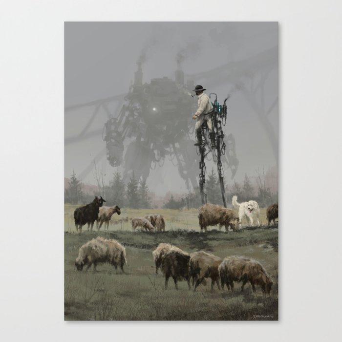 1920 - shepherd Leinwanddruck