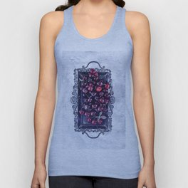 Winter Cherry Unisex Tank Top