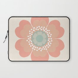 Good Look - 70s retro vibes floral flower power 1970's colorful retro vintage style Laptop Sleeve