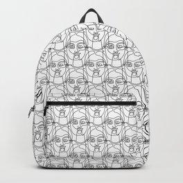 Linegirl pattern Backpack