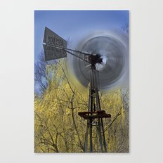 Spinning in the Wind Canvas Print