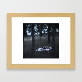 Sleepless.  Framed Art Print