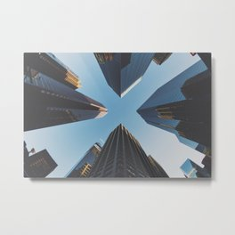 NYC Skyscrape Metal Print