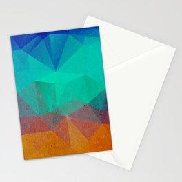 Geometric Nightfall Stationery Cards