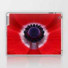 Red Anemone Laptop & iPad Skin