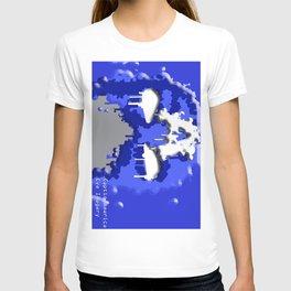 American splatter T-shirt