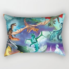 Wings Of Fire Character Rectangular Pillow
