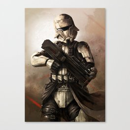Desert Tank Trooper Canvas Print
