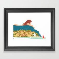 Illustre Conero - Numana e Sirolo Framed Art Print