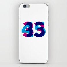 33/45 iPhone & iPod Skin
