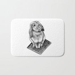 Bunny #5 Bath Mat