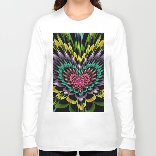 My heart explodes for you Long Sleeve T-shirt