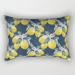 Lemons pattern Rectangular Pillow